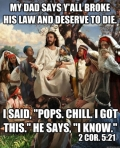 Jesus Got it Meme