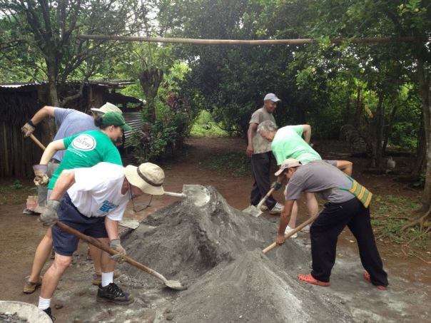 Panama Mission - Making Concrete