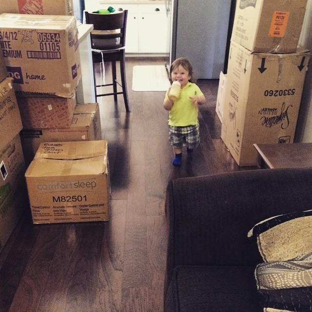 Boxes and Baby